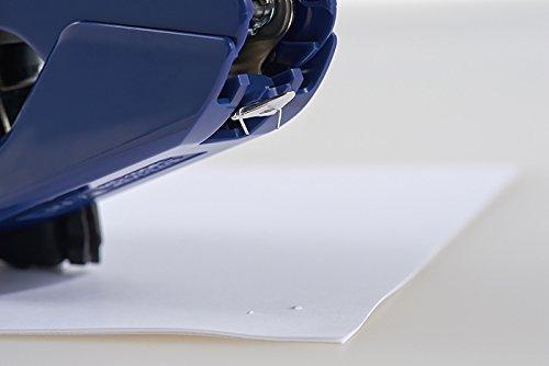 Max one flat Stapler power flat 26 sheets closed blue HD-10DFL / B2 Photo #2