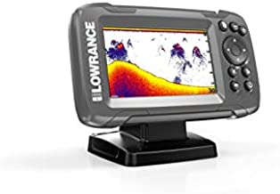 HOOK2 4X - 4-inch Fish Finder with Bullet Skimmer Transducer