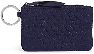 Vera Bradley Microfiber Zip ID Case Wallet Solid Navy product image