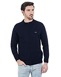 Cloak & Decker by Monte Carlo Men Navy Cardigan