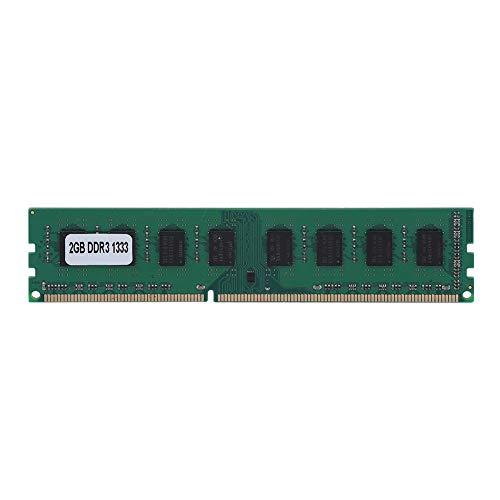 Diyeeni Módulo de Memoria de Alto Rendimiento,2GB DDR3 1333MHz 240Pin para RAM de Memoria Dedicada de Placa Base de Escritorio AMD