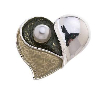Treend24 dames magneet broche hart groen sjaal clip bekleding magnetische broche poncho zakken steel textiel sieraden boom hart liefde cadeau-idee
