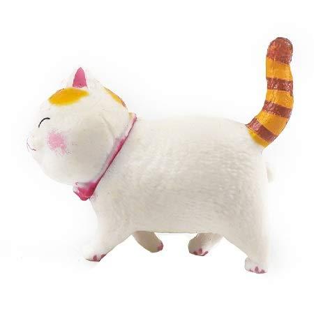 SunnyLou Lmanes de refrigerador 5 unids Encantador Gato Serie refrigerador imán 3D Gato imán decoración casero Regalo Creativo Animal refrigerador Pegatina (Color : A4)