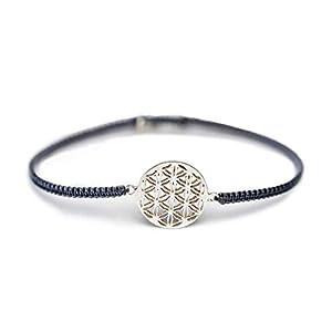 Armband Lebensblume 925 Silber