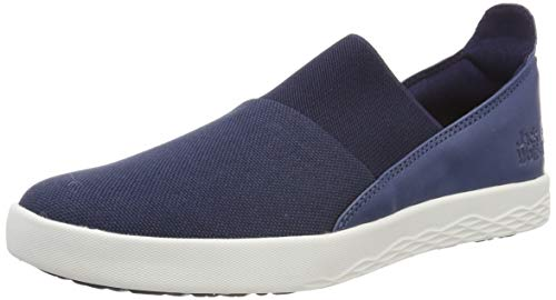 Jack Wolfskin Damen Auckland Low Slipper, Blau (Midnight Blue 1910), 40.5 EU