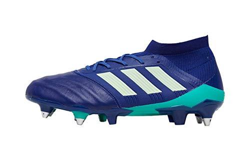 adidas Predator 18.1 SG, Zapatillas de Fútbol Hombre, Azul (Uniink/Aergrn/Hiregr Uniink/Aergrn/Hiregr), 41 1/3 EU