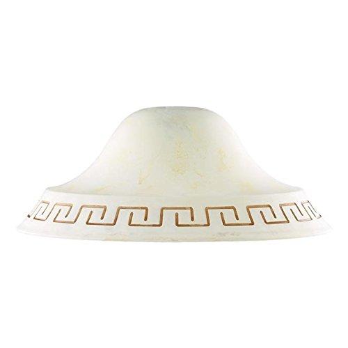 Anhänger Decke Licht gelb braun Antik Marmor Durchmesser 300 cm40 f42
