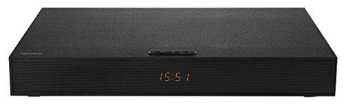 MEDION LIFE E64063 MD 80075 TV Soundbase, Bluetooth 3.0, kabellose Musikübertragung, Reichweite ca. 8m, 2x15 Watt RMS Lautsprecher, Aux Eingang, HDMI, schwarz