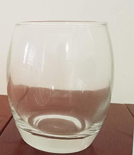 Dicker Boden Glas Eierbecher Glas Kerzenhalter Weinglas