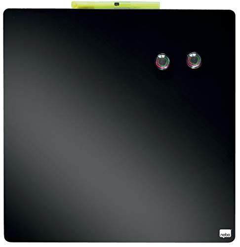Rexel 1903774 Tableau Magnétique Quartet Noir 360 x 360 mm