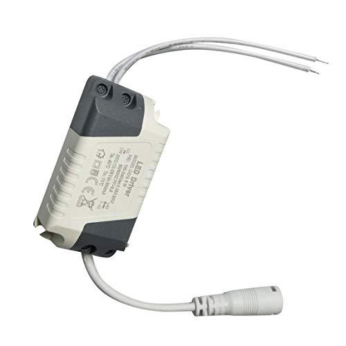 Controlador de lámpara de luz LED de intensidad regulable Transformador Fuente de alimentación 6/9/12/15/18 / 21W Asegure la luz de tira Alimentación Controlador de conector de CC externo