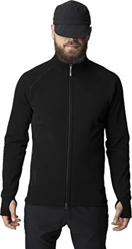 Houdini M Power Jacket Schwarz, Herren Polartec Fleecejacke, Größe L - Farbe True Black - True Black