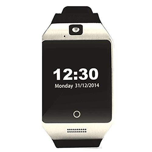 1,5' Reloj inteligente física impermeable con pantalla táctil completa | Pulsera Deportiv Bluetooth Podómetro con cámara Música Reproducir notificación por SMS para Android
