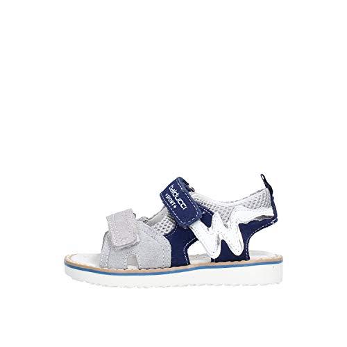 balducci - Sandalo da Bambino Grigio in Pelle BS830