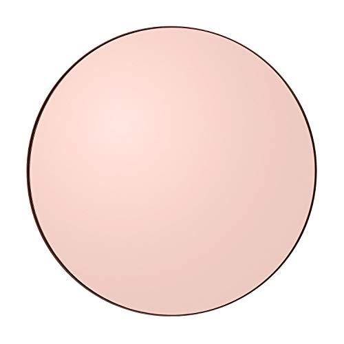 AYTM - Circum - Spiegel/Wandspiegel - Rose - MDF/Spiegelglsas - Ø 90cm x H: 2cm