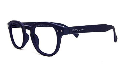 NOWAVE Occhiali da lettura Anti luce blu e UV | Montatura leggera e moderna
