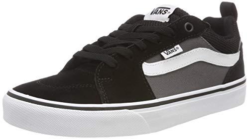 Vans Herren Filmore Sneakers, Schwarz ((Suede Canvas) Black/Pewter T2j), 43 EU