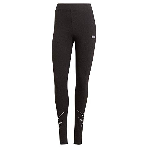 adidas GN4321 Tights Leggings Womens Black Melange 34