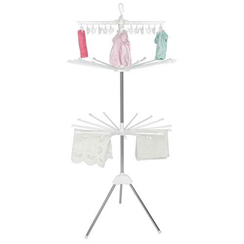 Estink - Tendedero plegable para ropa de bebé, 3 niveles, de acero...