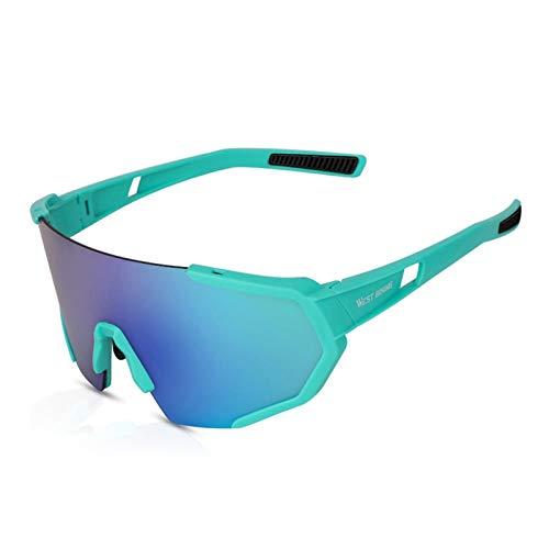 Occhiali da sole polarizzati di sicurezza per uomo e donna, occhiali da sole polarizzati, antivento, per pesca, golf, baseball, corsa, guida