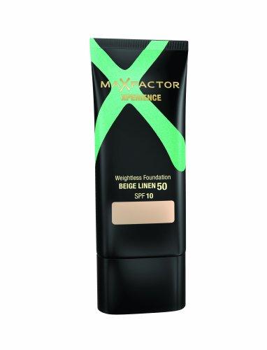 Max Factor - Xperience - Fond de teint poids plume - FPS 10 - Beige lin 50 - 30 ml