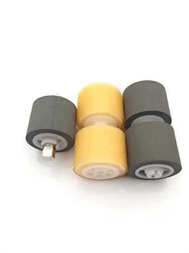 OKLILI 0434B002 0434B002AA MG1-3457-000 MA2-6772-000 MG1-3684-000 Kit de rodillos de intercambio para escáner compatible con Canon DR-5010C DR-6030C 5010C 6030C