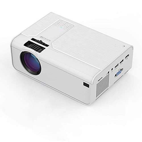 FMOGE HD Mini Proyector P60 3600 Lúmenes 720P Led Película Video Beamer Soporte De Cine En Casa 1080P Android WiFi Opcional Bluetooth (Color: P60 Android)