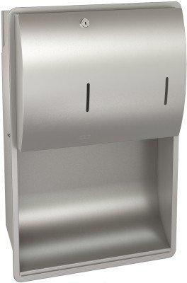 Franke Unterputz Papierhandtuch- und Seifenspender Kombination STRX601E aus Edelstahl