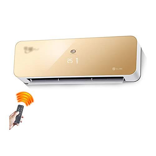 BEIBEI Riscaldatore A Parete Riscaldamento Elettrico Impermeabile A Risparmio Energetico Uso Domestico, con Telecomando (220V, 3000W),Gold