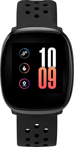 Timex iConnect 36 mm Unisex Black Case Black Silicone Strap Watch TW5M38600