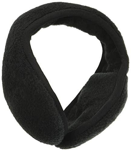 180s Fleece Behind-the-Head Earmuffs Black