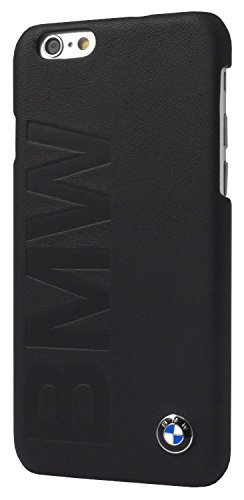 """BMW Signature Collection Hard Case Debossed Logo for iPhone 6/6S - 4.7"""" - Black"""