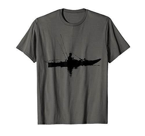 Kajakfischen | Kajak fahren | Geschenk zum Angeln T-Shirt