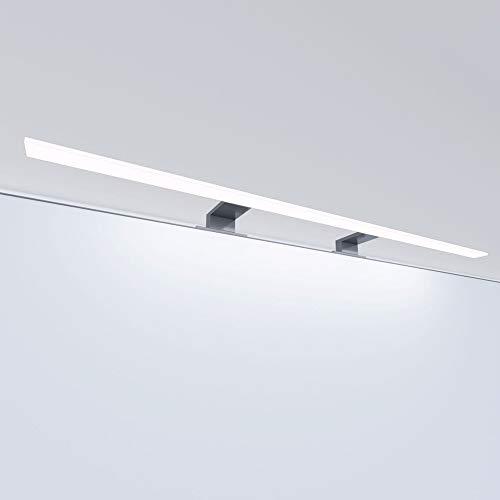 LED Badleuchte Badlampe Spiegellampe Spiegelleuchte Schranklampe Aufbauleuchte, Länge:800mm, Farbe:warmweiss