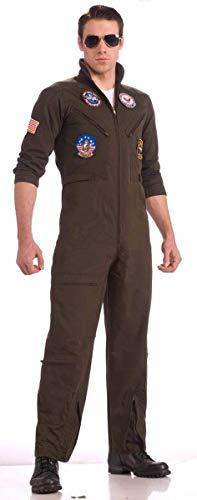 Top Gun Flight Suit Costume Adult Small