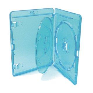Amaray–Stück 10Abdeckung für DVD Blu-ray, für 3Disks die ein, 15mm hoch