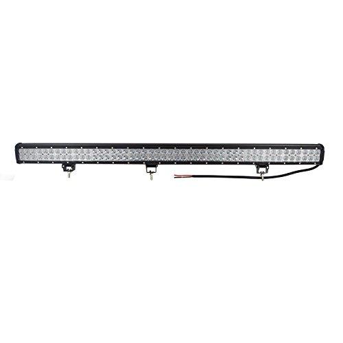 Auxtings 112 cm 44 pulgadas 288W Barra curva de luz antiniebla de varios tamaños y potencias, para todoterreno o camión