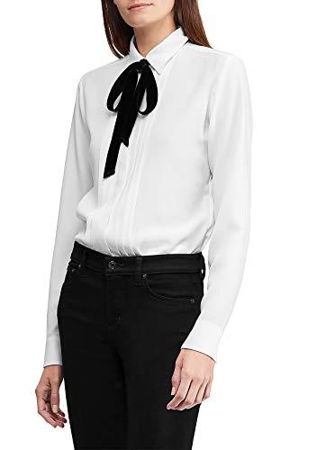 Lauren by Ralph Lauren Damen Bluse Button Down Shirt - Weiß - 42