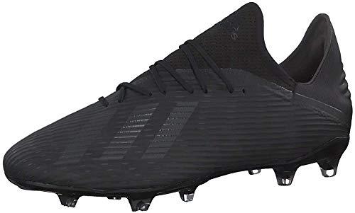 adidas Herren X 19.2 Fg Fußballschuhe, Schwarz (Core Black/Utility Black/Silver Met. Core Black/Utility Black/Silver Met.), 42 EU