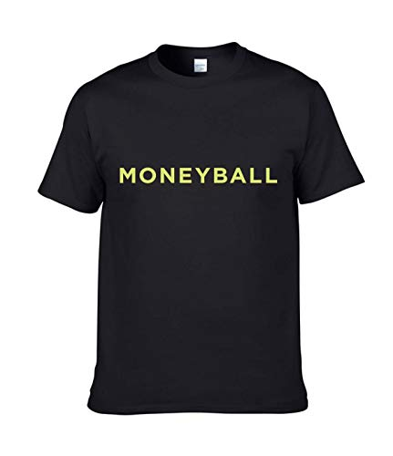 AILIBOTE Moneyball T-Shirt für Herren Gr. XXL, Schwarz
