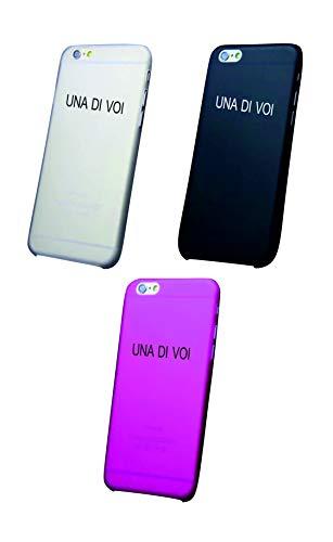 Social Crazy Cover iPhone XS - XR - XS Max-8-8 Plus - X - 6-6 Plus - 6S - 6S Plus - 7-7 Plus -11-11PRO-11PROMAX Una di Voi Trasparente Vari Colori UltraSottili AntiGraffio Antiurto Case Custodia