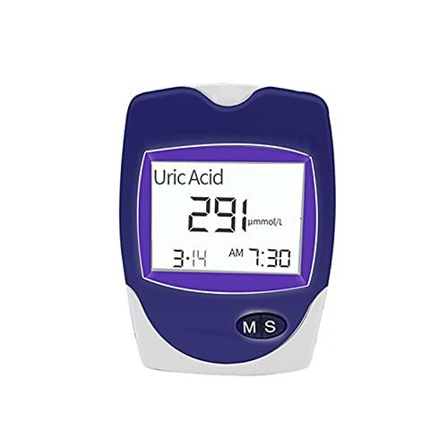 Enkelt att Använda Hemblodprovsats, 3In1 blodglukos urinsyra Kolesterolmätare Hem Glukosmätare Kit Monitor Utrustning och testremsor,Inget Behov av att Vänta och Exakt Mätning