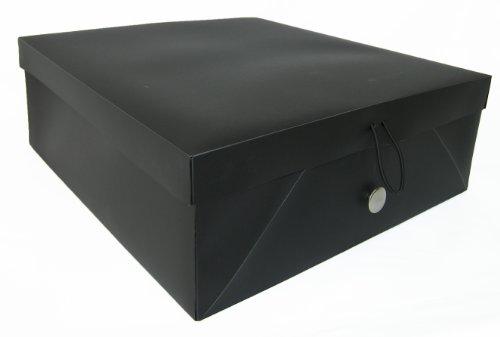 Storage Solutions Photo Organizer, Black
