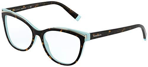 Tiffany Brillen Gafas de Vista TF 2192 HAVANA TURQUOISE 54/16/140 Damen