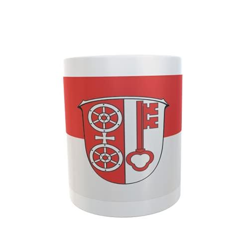 U24 Tasse Kaffeebecher Mug Cup Flagge Eltville am Rhein