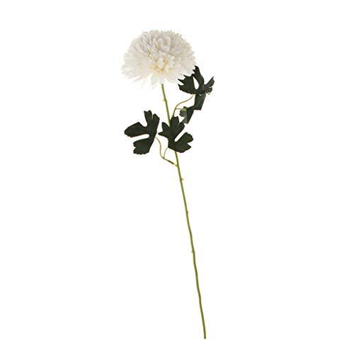 joyMerit Arreglo Floral De La Decoración del Banquete De Boda del Jardín Casero De La Flor De Seda Artificial - Crema, Individual