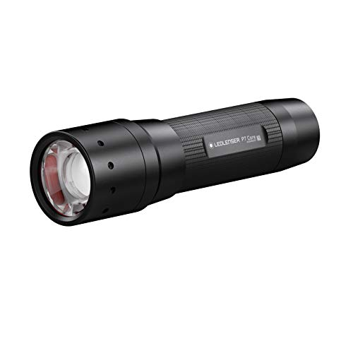 Ledlenser, P7 Core, LED Batterie Taschenlampe, inklusive Batterie, Alkaline, 450 Lumen, Leuchtweite 300 Meter