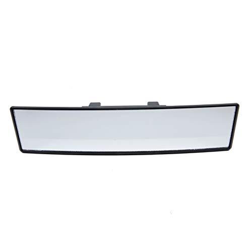 TRIXES Specchietto retrovisore extra large da 300 mm curvato, a clip, panoramico, specchietto per angolo cieco, per scuola guida.