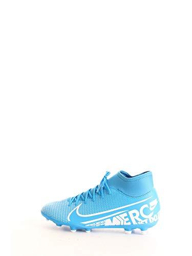 Nike Herren Mercurial Superfly 7 Club Mg Fußballschuhe, Mehrfarbig (Blue Hero/White/Obsidian 414), 45.5 EU