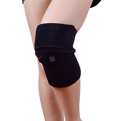 NCBH Knee USB elektrische verwarming massage kniebandage oplaadbaar warm oud onderhoud koud gewricht Leg Rotula Anziani Geschikt voor mannen vrouwen